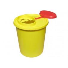 Емкость-контейнер для сбора колющих отходов 1л