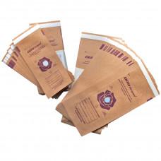 Пакет бумажный самозапечатывающийся для стерилизации из крафт-бумаги DGM Steriguard 115х200мм